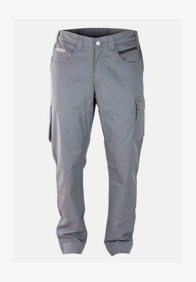 HALPA  - Cargo trousers - grau