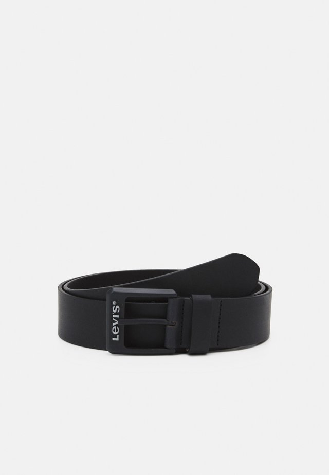CONTRAST BELT - Belt - regular black