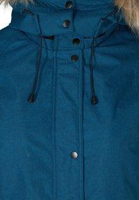 Zizzi - Winter coat - blue - 3