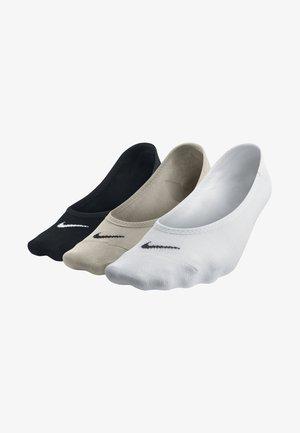 Lightweight No-Show 3 PACK - Calcetines de deporte - beige