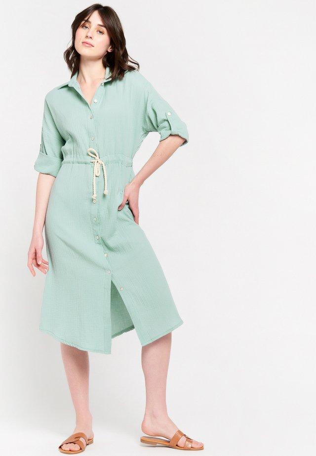 Shirt dress - licht green