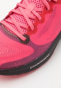 Under Armour - CHARGED PULSE - Neutral running shoes - pink lemonade - 5