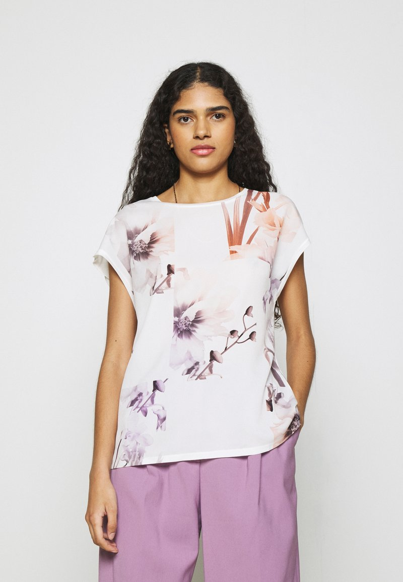 Ted Baker - LYLIE - T-shirt imprimé - white