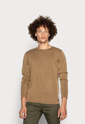 ONSGARSON LIFE WASH CREW - Pullover - maroon