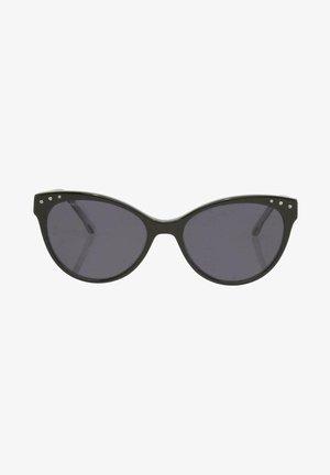 EYEWEAR CAT-EYE  - Sunglasses - black/white