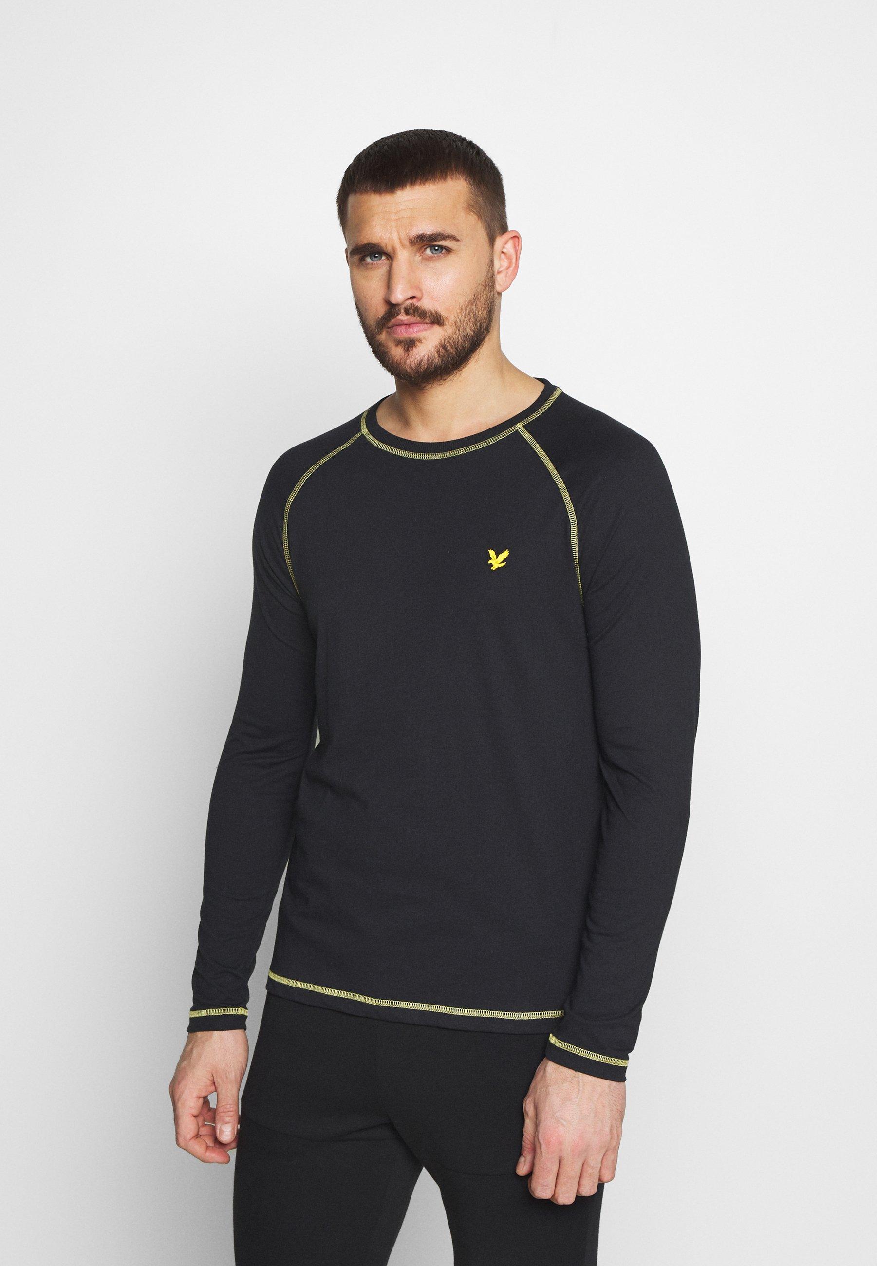 Men CONTRAST SEAMS BASELAYER - Long sleeved top