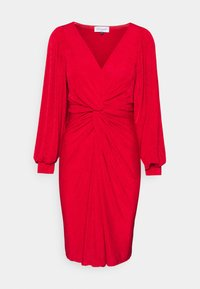 Closet - LONDON TWIST PENCIL DRESS - Jersey dress - red - 4