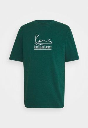 UNISEX SIGNATURE TEE - Print T-shirt - green