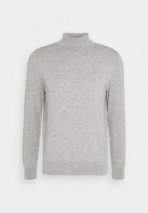 ROLLER NECK - Svetr - grey melange