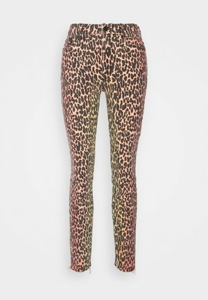 HIGH WAISTED LOOKER FRAY - Jeans Skinny Fit - horizon
