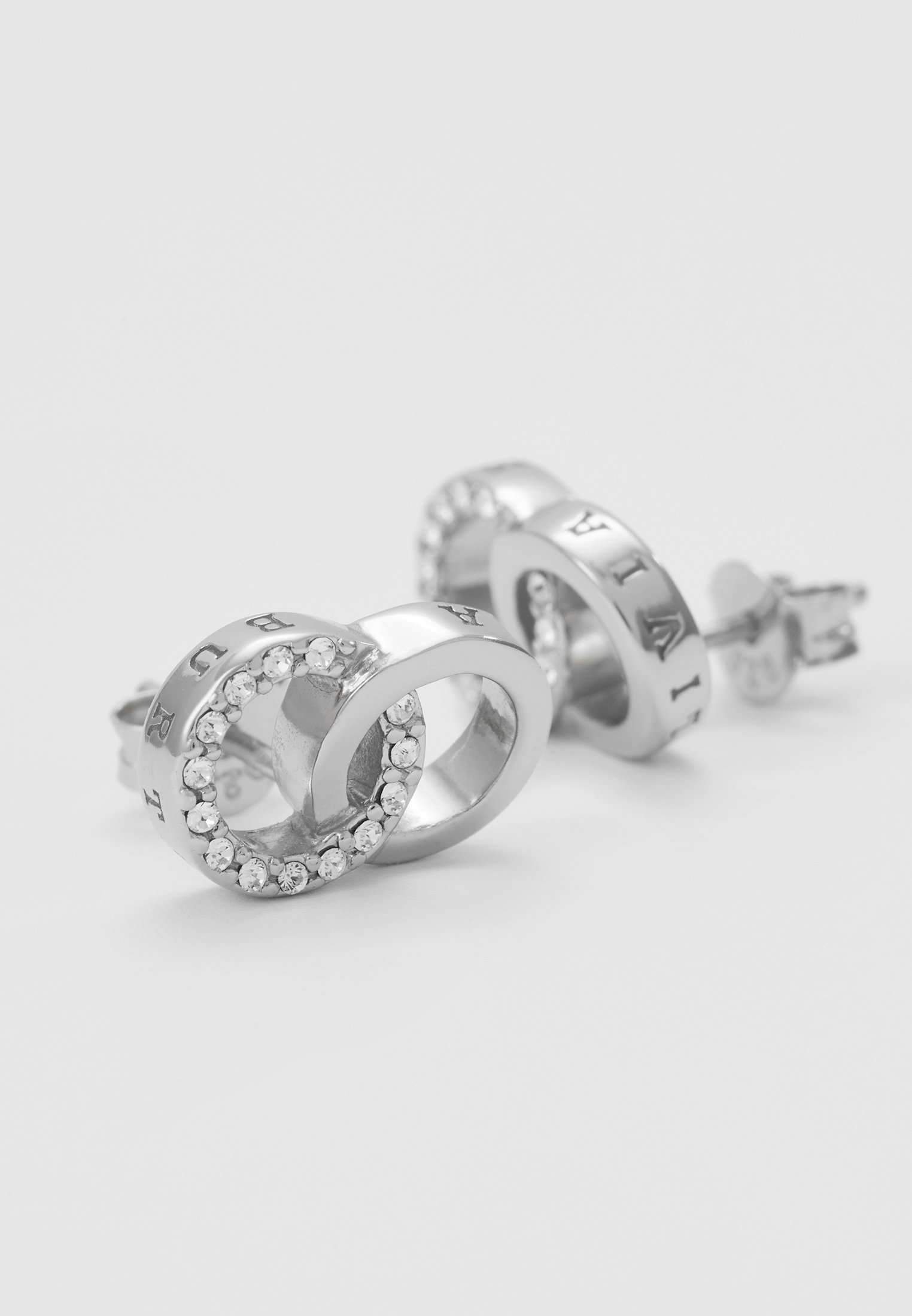 Olivia Burton Bejewelled Interlink Earrings - Ohrringe Silber