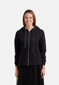 Oltre - Zip-up hoodie - nero - 0