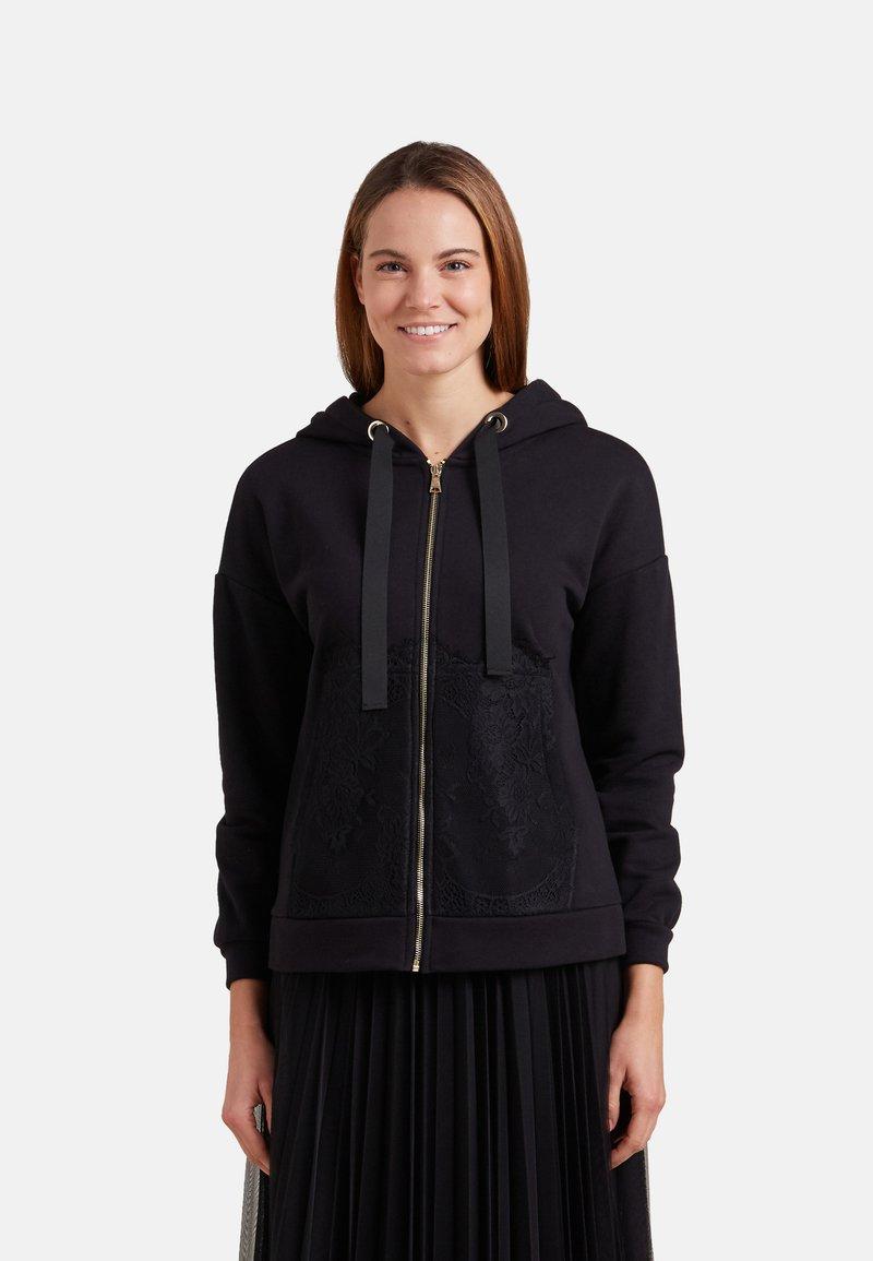 Oltre - Zip-up hoodie - nero