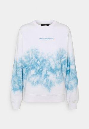 TIE DYE LOGO - Sweatshirt - pastel blue