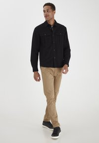 Solid - SDLOKE OVERSHIRT - Summer jacket - black - 1