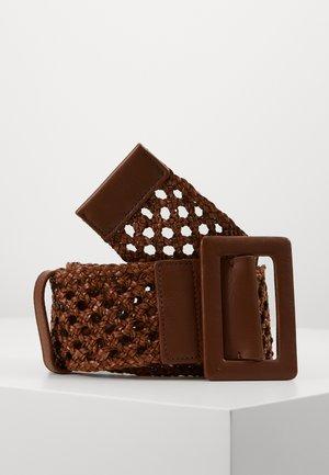 MERIS - Pletený pásek - taback