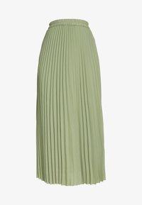 Selected Femme Tall - SLFJOSIE MIDI SKIRT - A-line skjørt - oil green - 3
