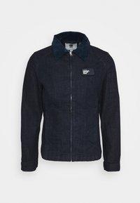 SERVICE OVERSHIRT - Denim jacket - rinsed