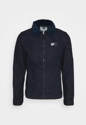 SERVICE OVERSHIRT - Denim jacket - rinsed