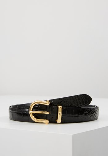 EMBOSSED - Belt - black