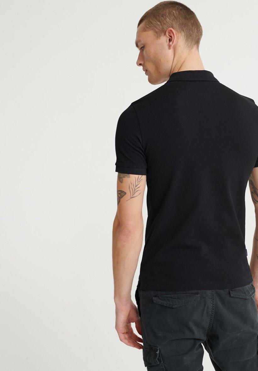 Autentyczny Gorąca wyprzedaż Superdry Koszulka polo - black | Odzież męska 2020 xseO9