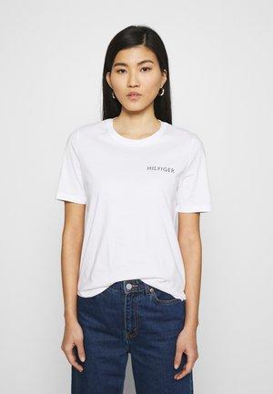 REGULAR TEE - Basic T-shirt - white