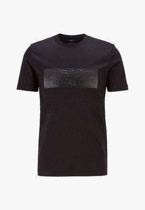 TESSLER 182 - T-shirt print - black