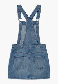 Benetton - EUROPE GIRL - Denimové šaty - blue denim - 1