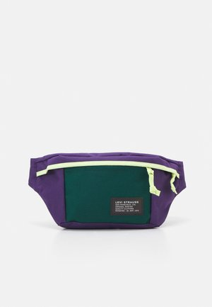 LARGE BANANA SLING UNISEX - Ledvinka - regular purple