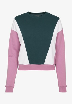 Sweatshirt - jasper/coolpink/wht