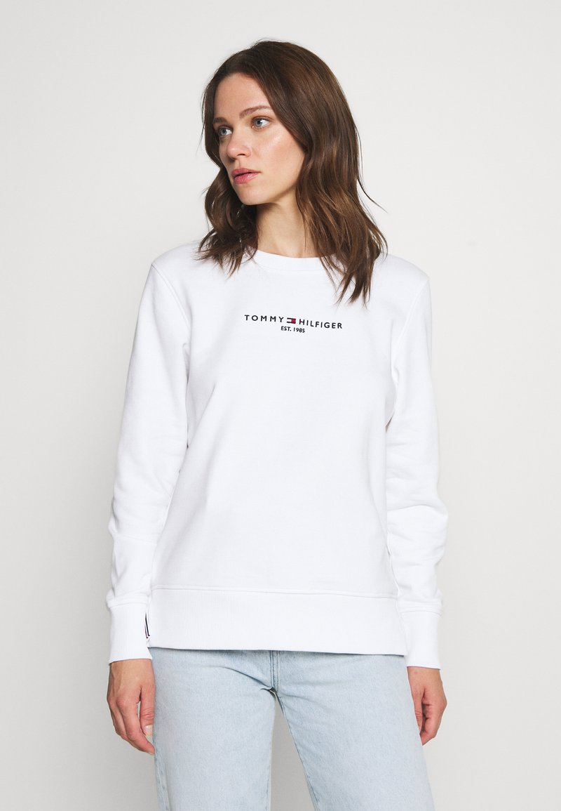 Tommy Hilfiger - REGULAR - Bluza - white