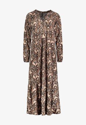 Maxi dress - light-brown