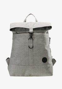 Enter - CITY FOLD TOP BACKPACK - Batoh - melange black - 6