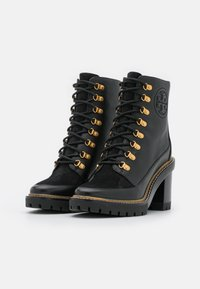 Tory Burch - MILLER BOOTIE - Lace-up ankle boots - perfect black - 2