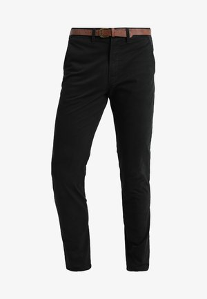 JJICODY JJSPENCER  - Pantalones chinos - black