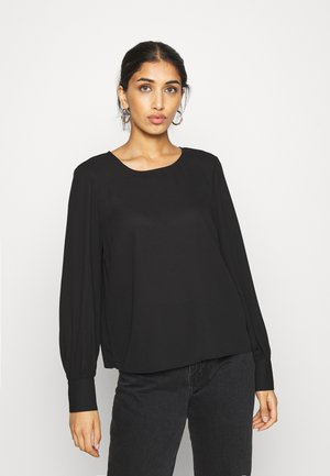 ONLNORA LIFE NECK - Blouse - black