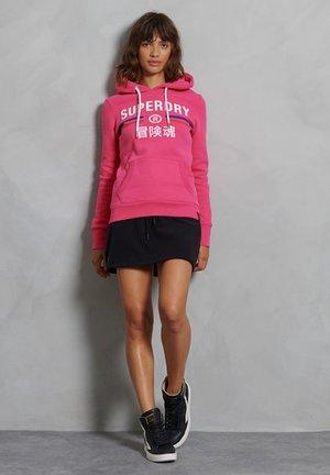 VINTAGE SPORT - Sweat à capuche - punk pink
