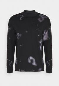 CLOUD PRINT UNISEX - Long sleeved top - black