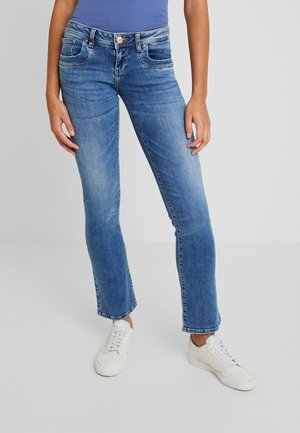 VALERIE - Bootcut jeans - yule wash
