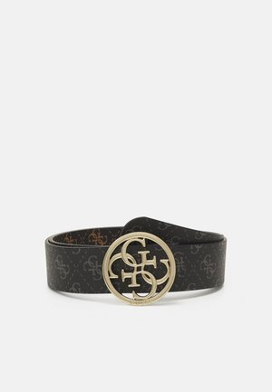 TYREN PANT BELT - Bælter - coal/brown
