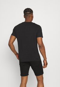 Only & Sons - ONSPINE LIFE TEE - Printtipaita - black - 2