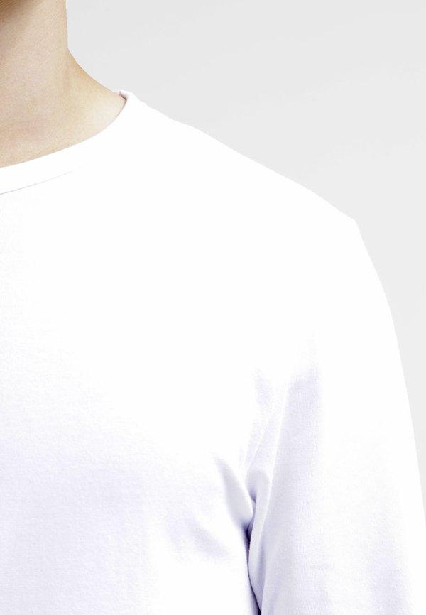 Jack & Jones JJBASIC - Bluzka z długim rękawem - optical white/biały Odzież Męska EKWY