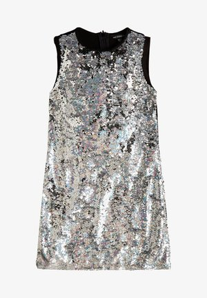 WENDEPAILLETTEN - Cocktail dress / Party dress - silber