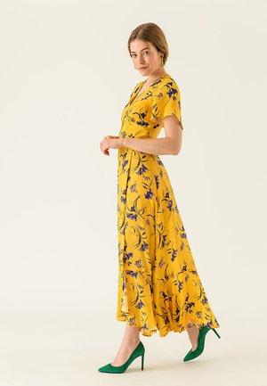 ANCLE LENGTH VALANCE DRESS - Długa sukienka - sun yellow