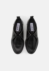 ASRA - FREDDIE - Lace-ups - black - 5