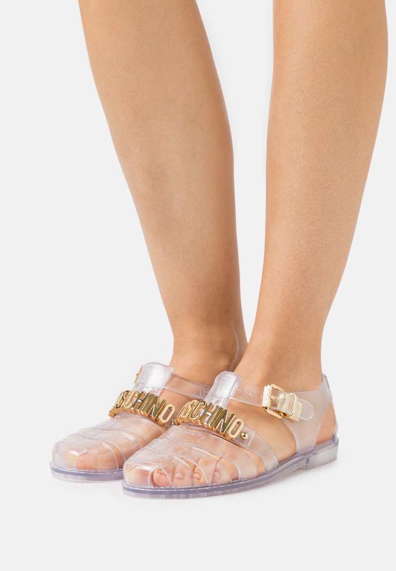 MOSCHINO - Sandals - trasparente