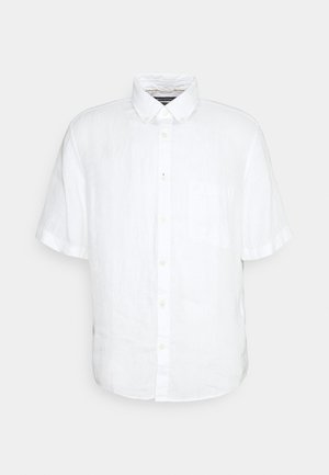 BUTTON DOWN SHORT SLEEVE - Shirt - white