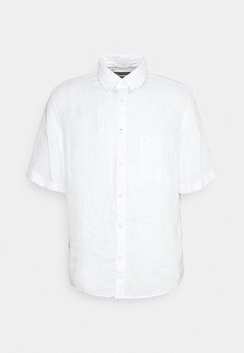 BUTTON DOWN SHORT SLEEVE - Overhemd - white