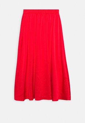 DALLI SKIRT - A-line skirt - high risk red