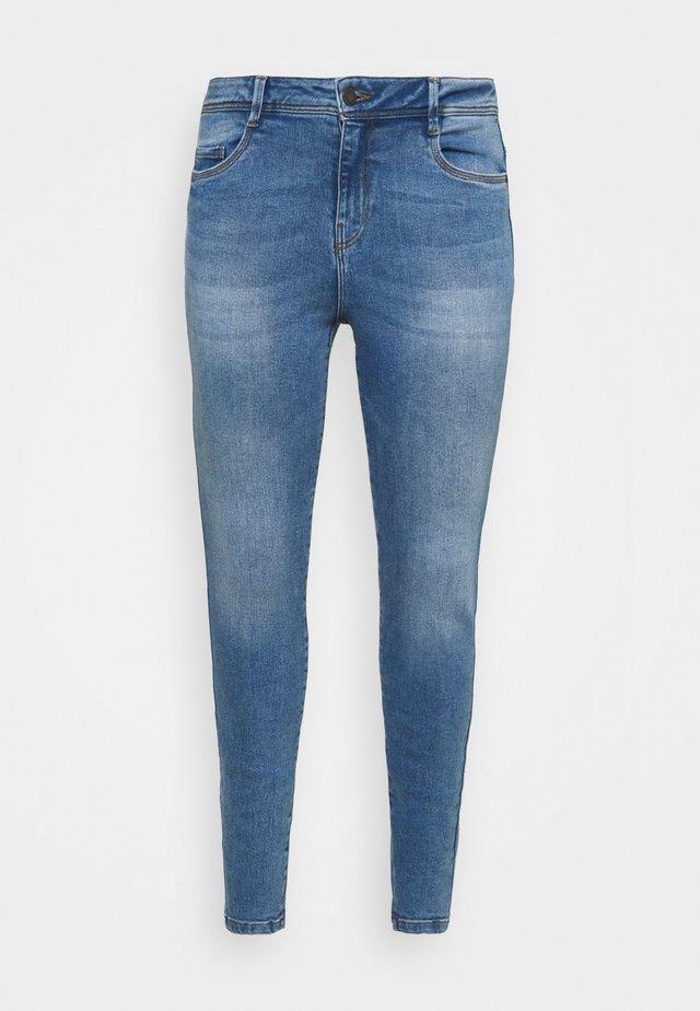 NMAGNES SUPER - Jeans Skinny Fit - light blue denim